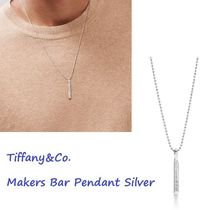 Tiffany & Co TIFFANY 1837 Unisex Chain Silver Necklaces & Chokers