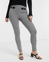 ASOS Zigzag Casual Style Street Style Long Skinny Pants