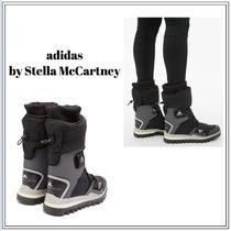 adidas by Stella McCartney Platform Rubber Sole Casual Style Blended Fabrics
