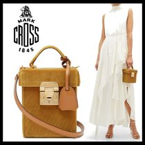 MARK CROSS Casual Style 2WAY 3WAY Plain Party Style Shoulder Bags