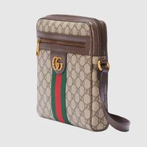 GUCCI Ophidia Monogram Street Style 2WAY Logo Messenger & Shoulder Bags