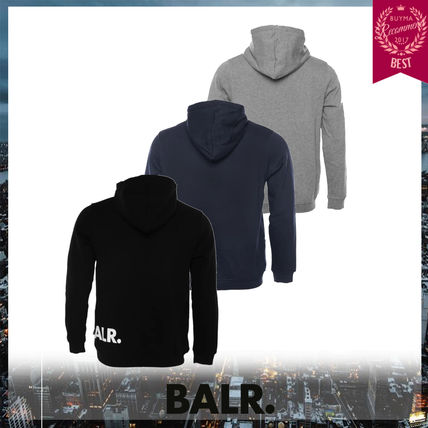 BALR Hoodies Unisex Street Style Long Sleeves Hoodies