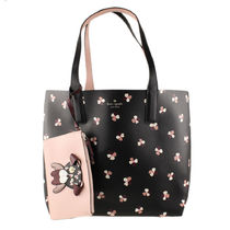 kate spade new york Flower Patterns A4 Plain Office Style Totes