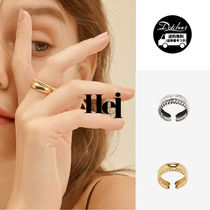 Hei Casual Style Silver Office Style Formal Style  Rings