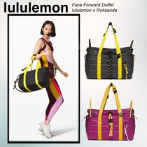 lululemon Casual Style Street Style Collaboration 2WAY Plain Bags