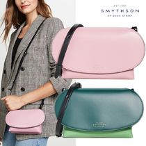 SMYTHSON Casual Style Calfskin 2WAY Shoulder Bags