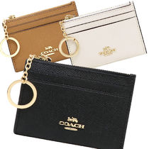 Coach Leather PVC Clothing Card Holders