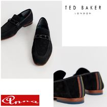 TED BAKER Loafers Suede Plain Loafers & Slip-ons
