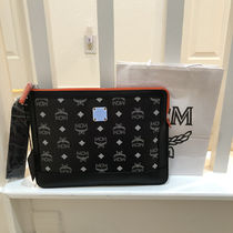 MCM Casual Style Nylon Logo Clutches