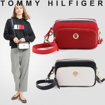 Tommy Hilfiger Casual Style Unisex Blended Fabrics Street Style 2WAY