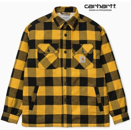 CARHARTT WIP ☆MERTON SHIRT JAC /Other Plaid Patterns Jackets