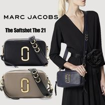 MARC JACOBS Softshot Casual Style Vanity Bags Plain Party Style Office Style