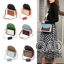 OAD NEW YORK Casual Style Faux Fur Street Style 2WAY 3WAY Bi-color Plain