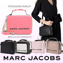 MARC JACOBS Box Bag Tropical Patterns Casual Style Unisex Vanity Bags Plain
