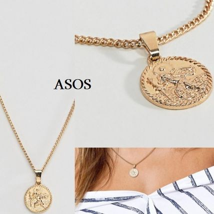 Casual Style Coin Street Style Necklaces & Pendants