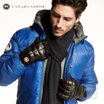 CANADA GOOSE Plain Oversized Touchscreen Gloves
