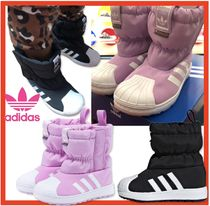 adidas SUPERSTAR Street Style Kids Girl Boots