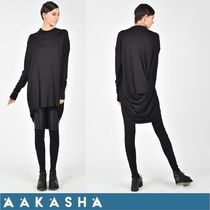 Aakasha Long Sleeves Plain Medium Handmade Tunics
