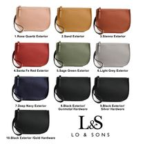 Lo & Sons Casual Style Plain Shoulder Bags