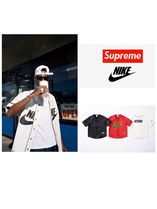 Supreme Unisex Street Style Collaboration Tops
