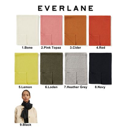 Casual Style Cashmere Plain Lightweight Scarves & Shawls