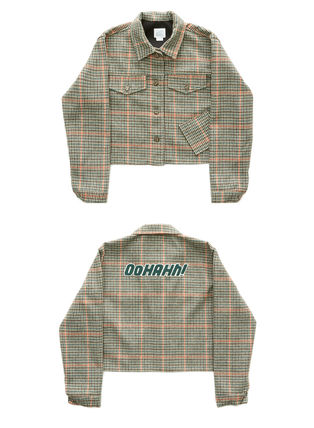 Short Other Plaid Patterns Jackets