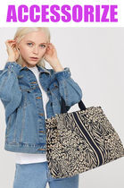 Accessorize Stripes Leopard Patterns Casual Style Unisex A4