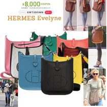 HERMES Evelyne Collaboration Shoulder Bags