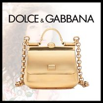 Dolce & Gabbana 2WAY Party Style Elegant Style Handbags