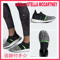 adidas by Stella McCartney Leopard Patterns Street Style Collaboration Low-Top Sneakers