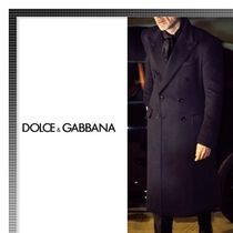 Dolce & Gabbana Cashmere Plain Long Chester Coats
