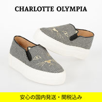 Charlotte Olympia Zigzag Casual Style Low-Top Sneakers