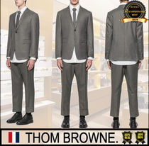 THOM BROWNE Unisex Street Style Two-Piece Sets