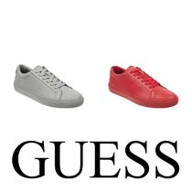 Guess Unisex Street Style Plain Sneakers