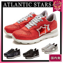 Atlantic STARS Casual Style Street Style Leather Handmade Low-Top Sneakers