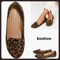 boohoo Leopard Patterns Casual Style Flats