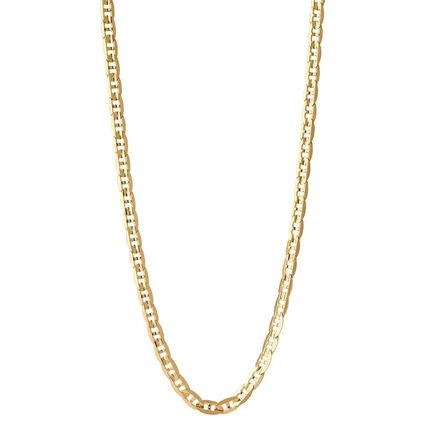 Unisex Street Style Silver 18K Gold Necklaces & Chokers