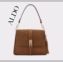 ALDO Casual Style Faux Fur 2WAY Plain Party Style Office Style