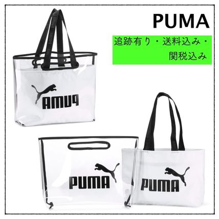Plain Crystal Clear Bags Totes