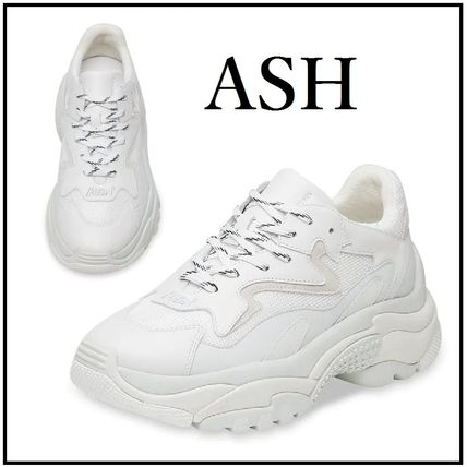 Rubber Sole Casual Style Street Style Plain Low-Top Sneakers