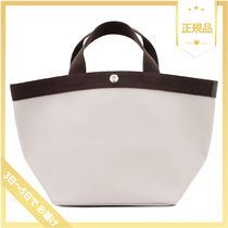 HERVE CHAPELIER Casual Style Plain Totes