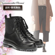 Gianvito Rossi Casual Style Mid Heel Boots