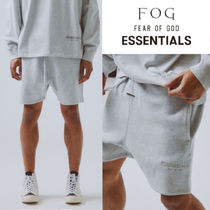 FEAR OF GOD ESSENTIALS Sweat Street Style Collaboration Cotton Joggers Shorts