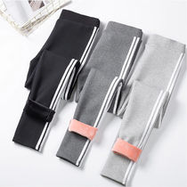 Stripes Casual Style Blended Fabrics Street Style Bi-color
