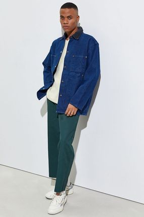 Dickies Street Style Collaboration Plain Cropped Pants