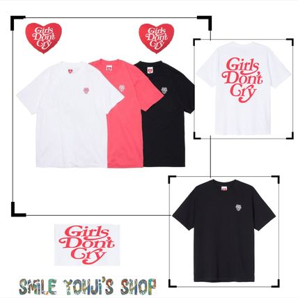 Girls Don't Cry More T-Shirts Street Style Collaboration Graphic Prints T-Shirts