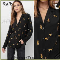 Rails Long Sleeves Other Animal Patterns Medium Handmade