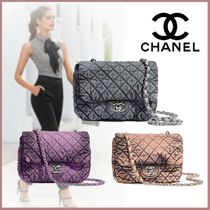 CHANEL MATELASSE Casual Style Canvas Street Style Tie-dye 3WAY Bi-color Chain