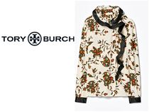 Tory Burch Casual Style Silk Long Sleeves Party Style Office Style