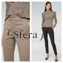 Sfera Other Check Patterns Casual Style Medium Pants